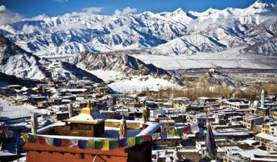 Leh, capital of the former Himalayan Kingdom of Ladakh
