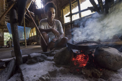 Cooking dinner in Wagu